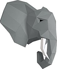 Oh Glam Home Kit DIY Testa di Elefante Papercraft