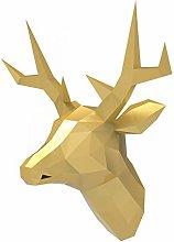 Oh Glam Home Renne / Cervo Papercraft Kit Trofeo