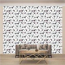 OHEHE Adesivo Murale Bassotto Stickers Murali