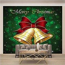 OHEHE Adesivo Murale Campana di Natale Stickers