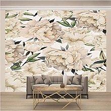 OHEHE Adesivo Murale fiore di peonia Stickers