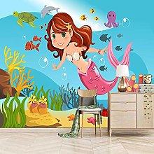 OHEHE Adesivo Murale Sirena Stickers Murali