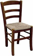 Okaffarefatto - Sedia legno con seduta in paglia