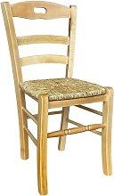 Okaffarefatto - Sedia legno naturale loris con