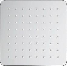 Olimpo Docce - Soffione doccia quadrato in acciaio