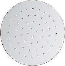 Olimpo Docce - Soffione doccia tondo in acciaio