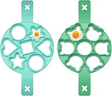 Olymajy 2pcs formine pancake, stampo in silicone