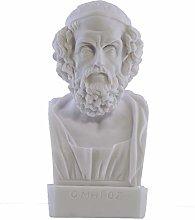 Omero Busto Testa Epic Poet Autore Iliade e