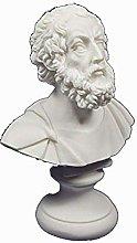 Omero statua busto antico poeta greco scultura