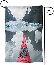 OMNVEQ Bandiera da Giardino Kayak 17 Banner in