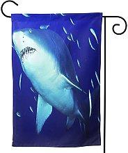 OMNVEQ Bandiera da Giardino Squalo Tigre della