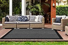 One Couture - Tappeto in sisal dal design moderno,
