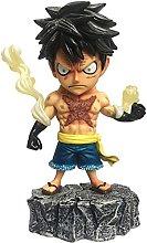 One Piece Anime Domineering Tattoo Rufy figura