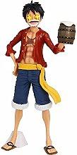 One Piece Monkey D. Rufy che cambia faccia Statua