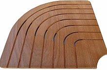 Onlywood Pedana doccia angolare legno marino