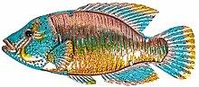 Opere d'Arte da Parete in Metallo di Pesce per