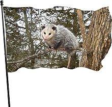 Opossum Wallpaper Garden Flag Indoor Outdoor Flag