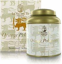 Orange Pekoe OP1, tè Nero di Ceylon, Barattolo di