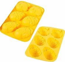 Orapink - Stampo in silicone per uova di Pasqua,