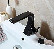 ORB Rubinetto per bagno nero 1 maniglia per