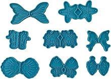 Orecchini serie Ocean Stampo in resina epossidica