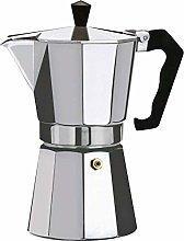 OreWork caffettiera Italiana in Alluminio, 3Tazze
