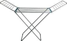 Orework Stendibiancheria Ali 18 m Alluminio, Inox,