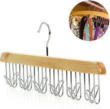 Organizer da appendere in legno per accessori per