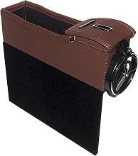 Organizer portaoggetti portatile in pelle per