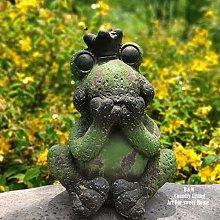 Ornamenti da giardino all'aperto Giardino rana