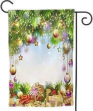 Ornamenti da giardino Bandiera Buon Natale Luce