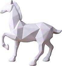 Ornamenti decorazione della casa Cavallo in resina