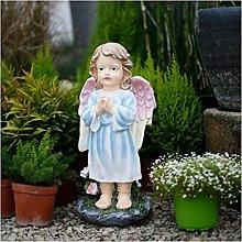 Ornamenti di angelo ragazza, scultura da giardino,