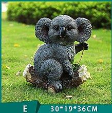 Ornamento di koala da giardino da esterno Mestieri