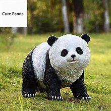 Ornamento di panda da giardino all'aperto