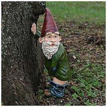 Ornamento Gnome Garden, Gnomo divertente Gnome