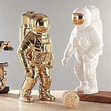 Oro Space uomo Scultura Astronauta Fashion Vaso
