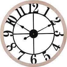 Orologio bicolore, 60 cm