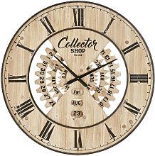 Orologio con calendario perpetuo bicolore, D 90 cm