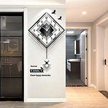 Orologio da parete creativo minimalista moderno e