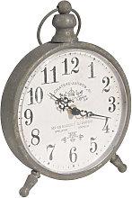 Orologio da tavolo in metallo 17x21 cm