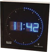 Orologio Digitale Da Parete Muro Led Blu