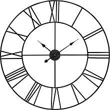 Orologio nero in metallo 88 cm