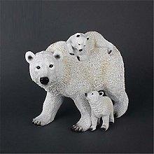 Orso da giardino da esterno Ornamento Orso polare