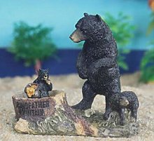 Orso da Giardino Ornamento da Giardino Orso Nero