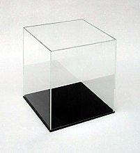 ORUS - Teca con base nera 25 x 25 x 40(h)