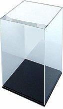 ORUS - Teca con base nera 25 x 25 x 45(h)