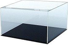 ORUS - Teca con base nera (30 x 30 x 20 (h))