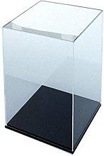 ORUS - Teca con base nera 30 x 30 x 50 (h)