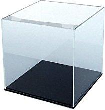 ORUS - Teca con base nera, formato: 25 x 25 x 25